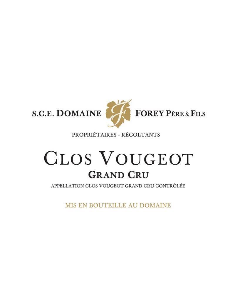 Domaine Forey Pere et Fils 2016 Clos de Vougeot Grand Cru, Cote de Nuits, France
