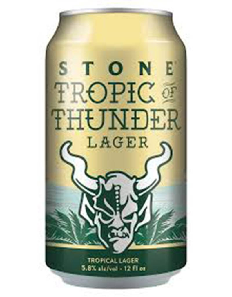 Stone Brewing Co. Tropic of Thunder Lager, 6pk Cans