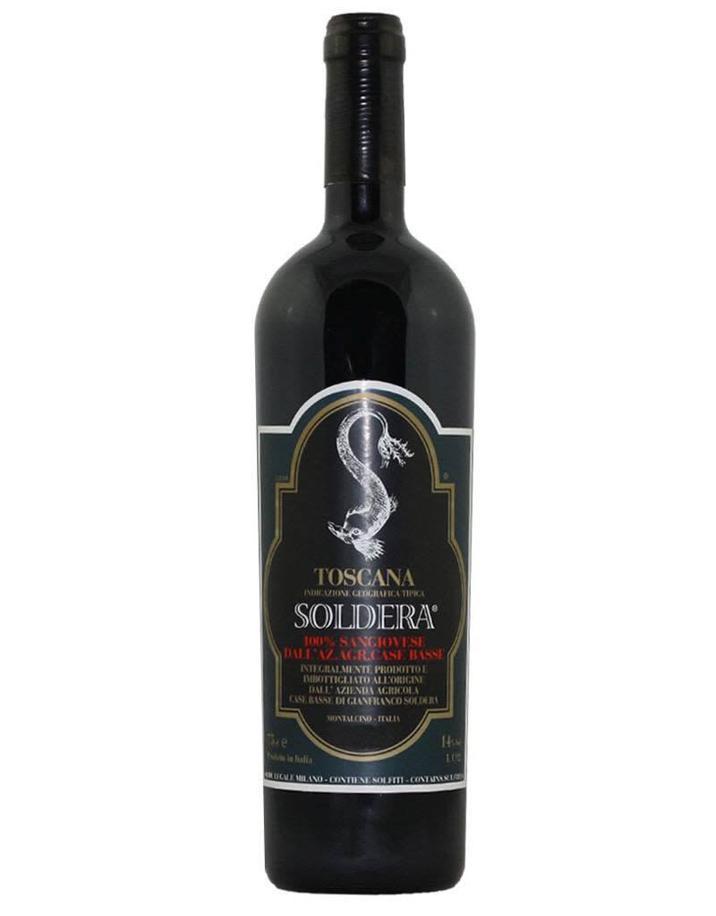 Soldera 2013 Case Basse 100% Sangiovese Toscana IGT, Italy