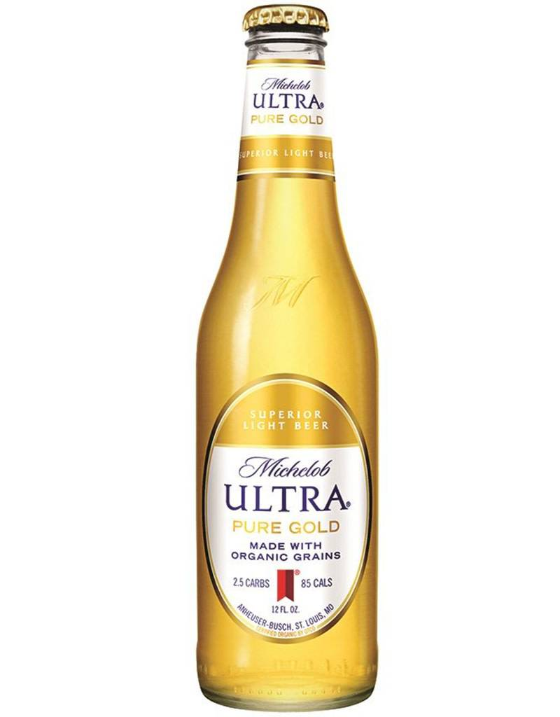 Anheuser-Busch Michelob Ultra Pure Gold Organic Beer, 6pk Bottles