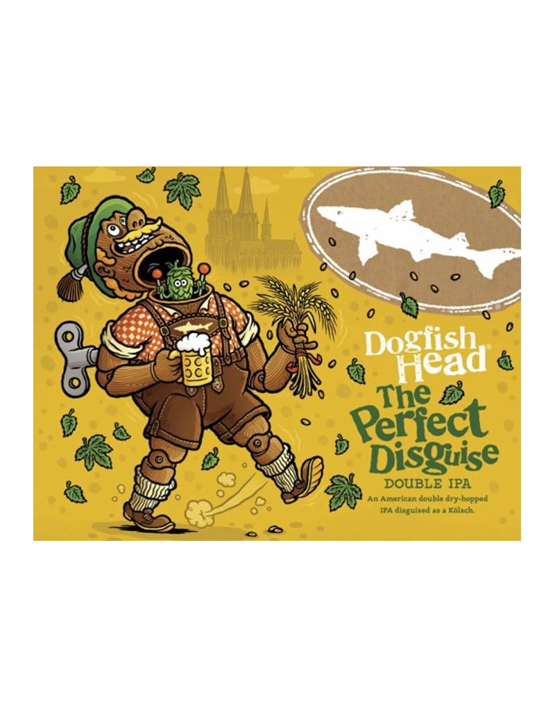 Dogfish Head Brewery The Perfect Disguise Double IPA Beer, 6pk Bottles