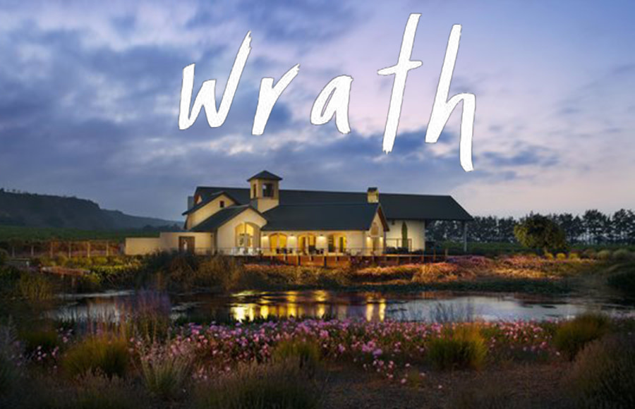 WED 1 MAY | Wrath Vineyards Tasting Seminar with Claire Marlin from California