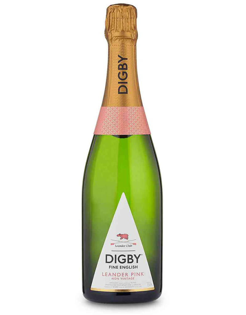 Digby Fine English, Leander Pink Brut Rosé England