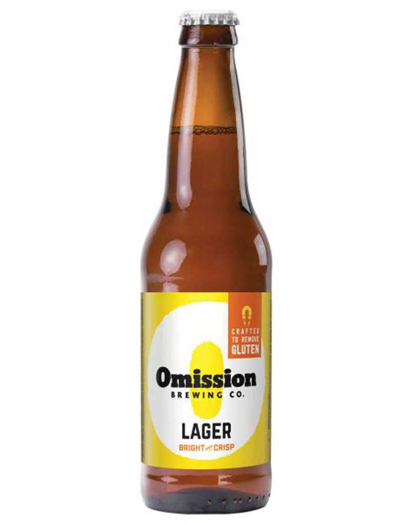 OMISSION Gluten-Free Lager Beer, 6pk Bottle