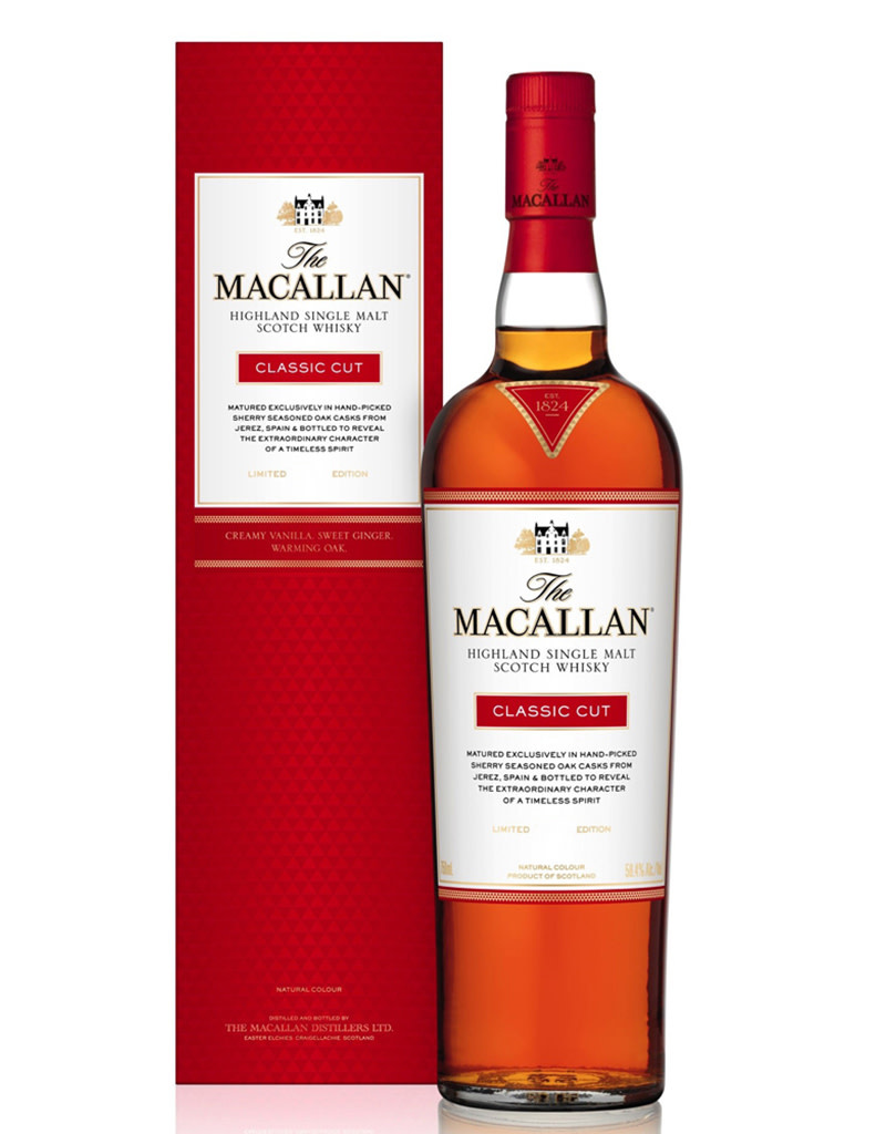 The Macallan Limited 2018 Edition Classic Cut Single Malt Scotch Whisky, Speyside
