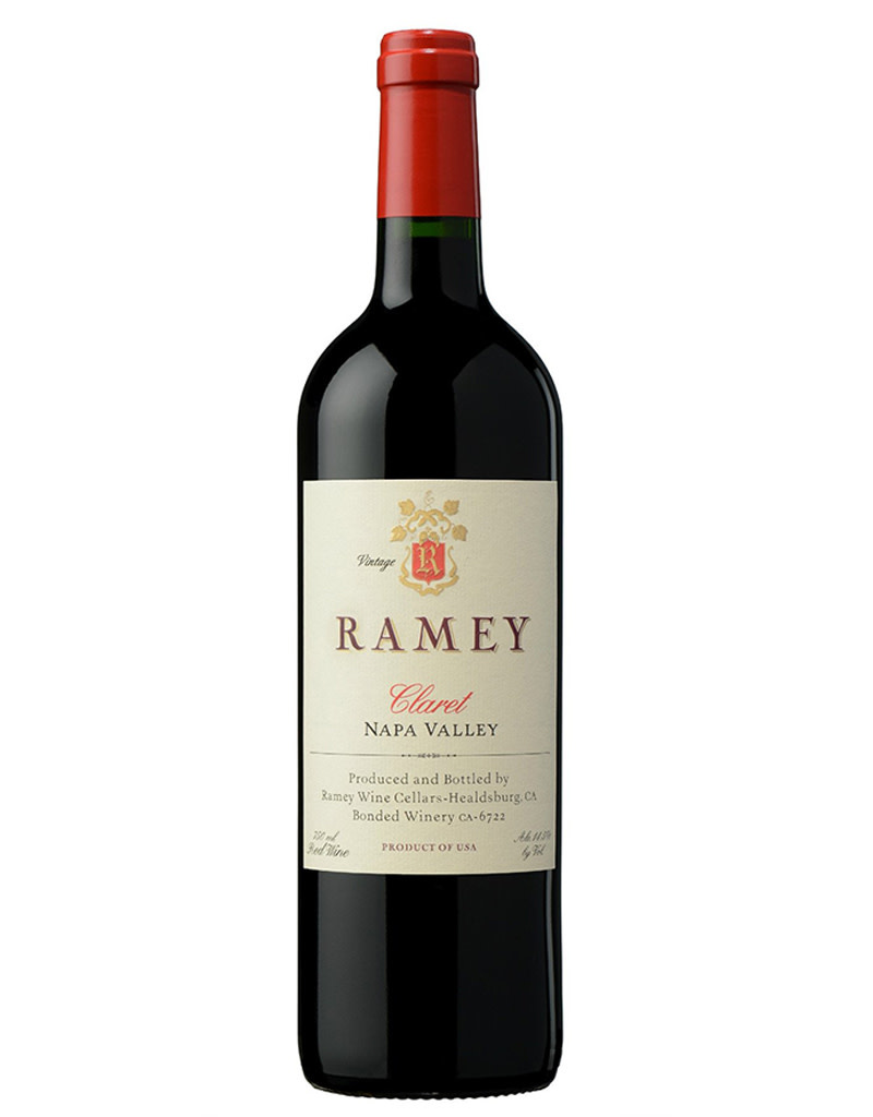 Ramey Vineyard Ramey Wine Cellars 2015 Claret Red Blend, Napa Valley, California