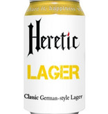 Heretic Brewery Co. Lager, Classic German Style, California 6pk Cans