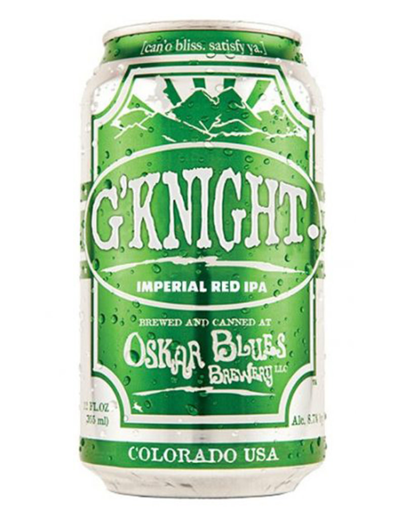 Oskar Blues G'Knight Red IPA Beer, 6pk Cans