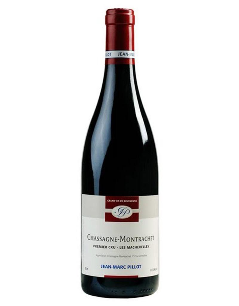 Domaine Jean Marc Pillot 2014, 'Les Macherelles 1er Cru' Chassagne-Montrachet Rouge, Burgundy, France