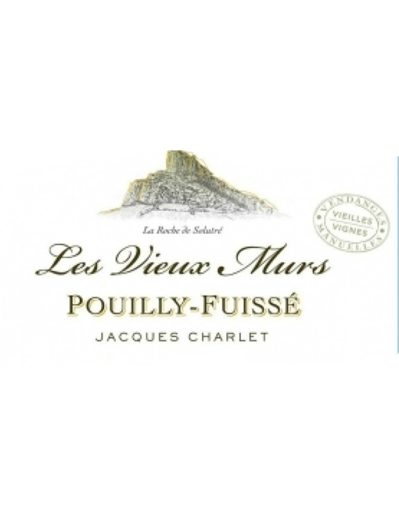 Jacques Charlet 2015 Pouilly-Fuisse Les Vieux Murs Vieilles Vignes, Maconnais, France