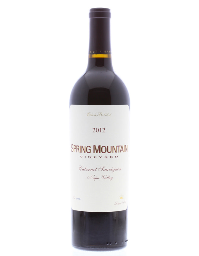 Spring Mountain Vineyards 2013 Cabernet Sauvignon, Napa Valley