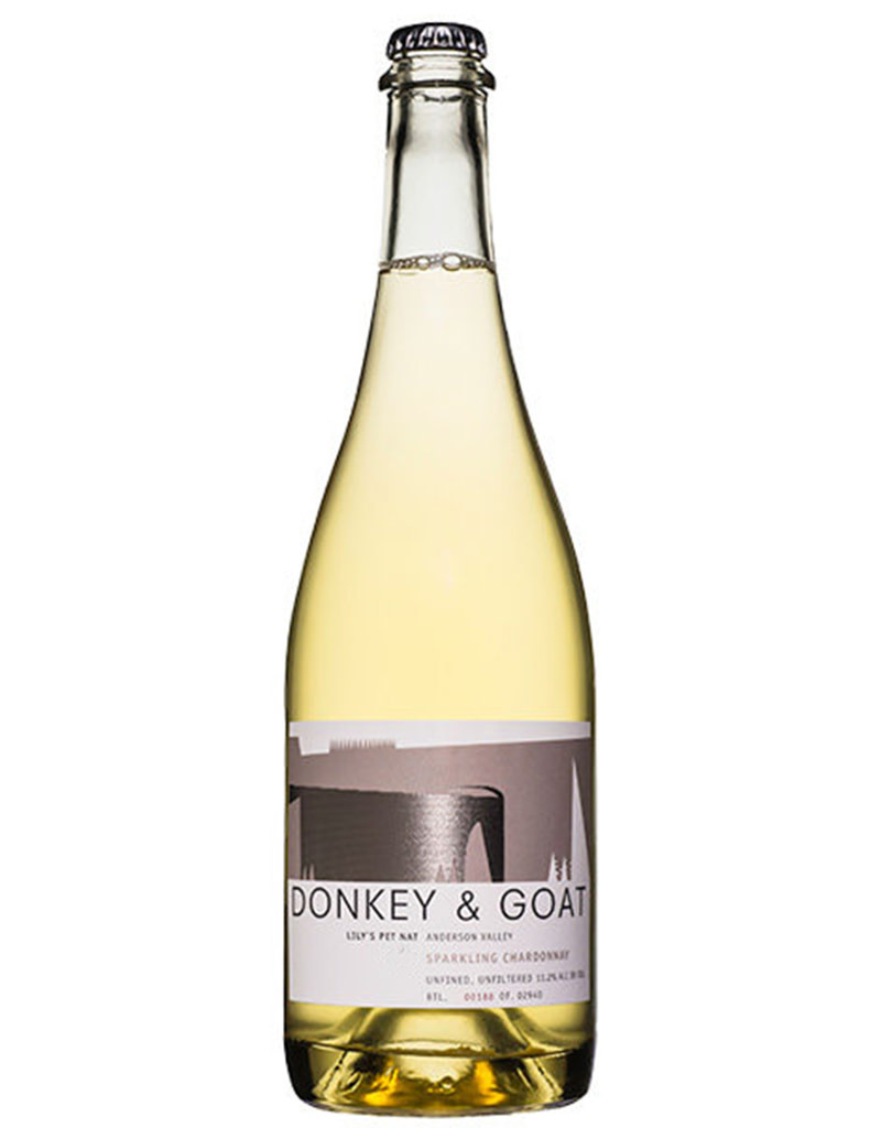 Donkey and Goat Winery Donkey and Goat 2017 Lily's Sparkling Chardonnay Pét-Nat, Anderson Valley