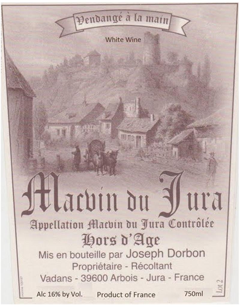 Joseph Dorbon 2011 Macvin du Jura, Jura, France