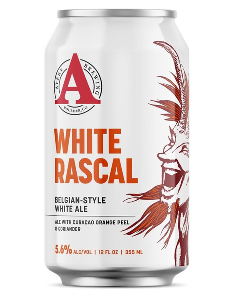 Avery Brewing Co. Avery Brewing Co. White Rascal Belgian Style White Ale, 6pk Cans