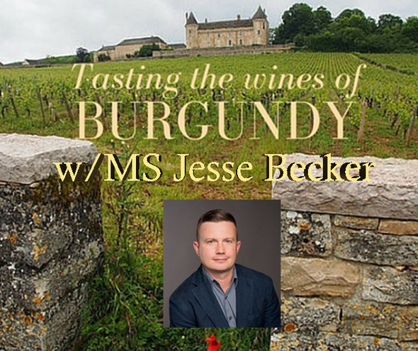 Tuesday 9 APRIL 2019 | BURGUNDY TASTING SEMINAR WITH MASTER SOMMELIER JESSE BECKER