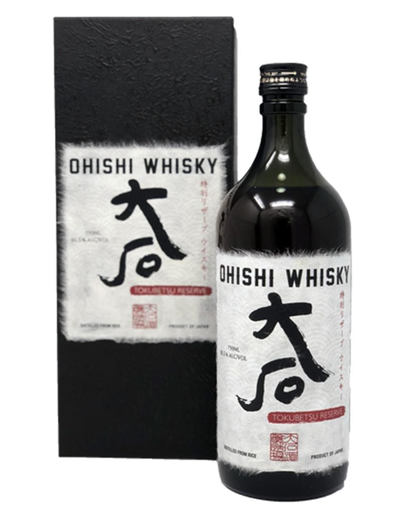 Ohishi 'Tokubetsu Reserve' Whisky, Japan