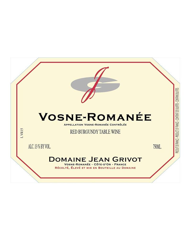 Domaine Jean Grivot 2016 Vosne-Romanée, Cote de Nuits, France