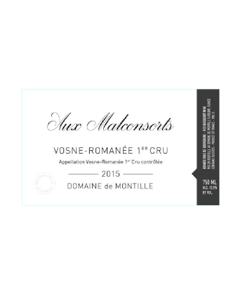 Domaine de Montille Domaine de Montille 2015 Aux Malconsorts, Vosne-Romanée, 1er Cru, France, 1.5L