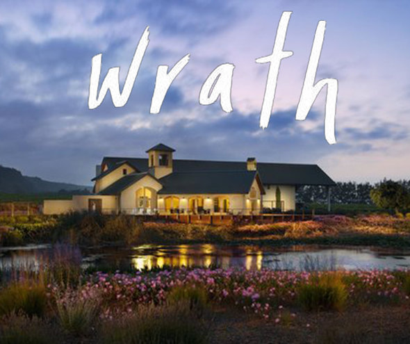 Wednesday 1 MAY | Wrath Vineyards Tasting Seminar with Claire Marlin from California