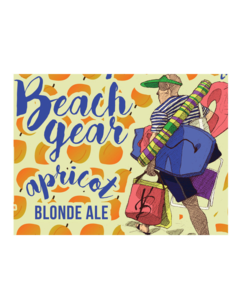 Voodoo Brewery Beach Gear Apricot Blonde, 4pc Cans