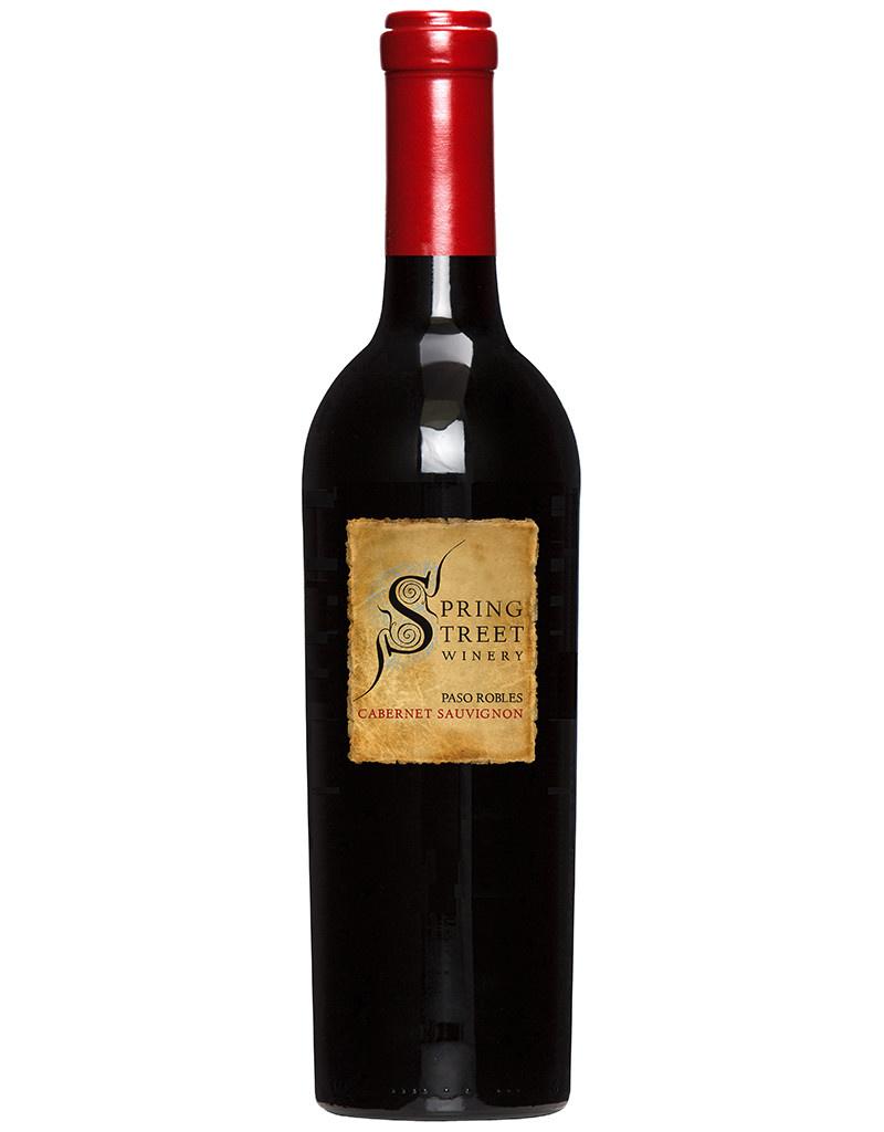 Spring Street Winery 2017 Cabernet Sauvignon, Paso Robles, California