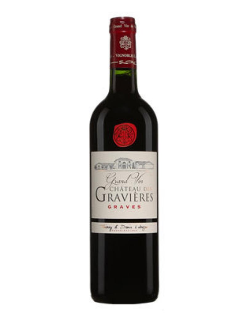Chateau de Gravières 2015, Graves, Bordeaux, France 375ml