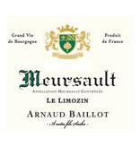 Arnaud Baillot Arnaud Baillot 2016 Meursault, Le Limozin, Burgundy, France