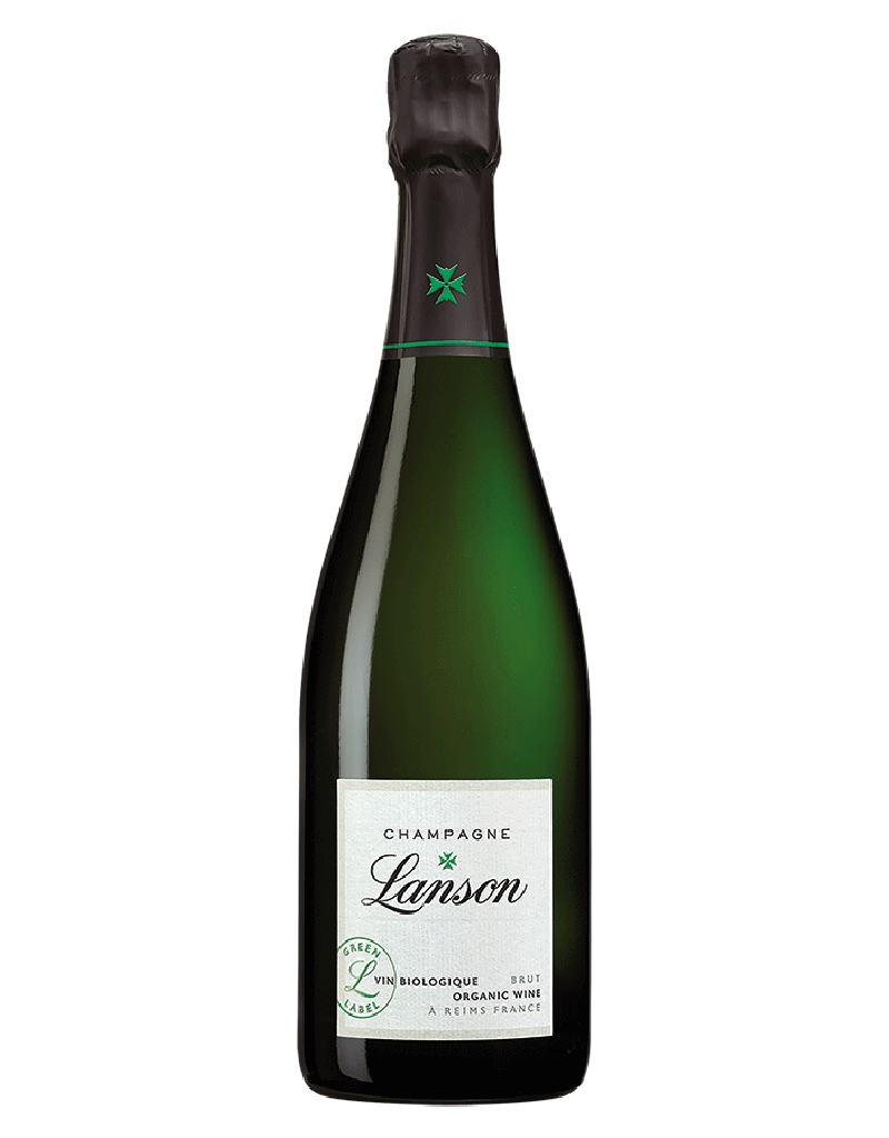 Lanson Champagne Lanson Green Label Organic Brut, Champagne, France