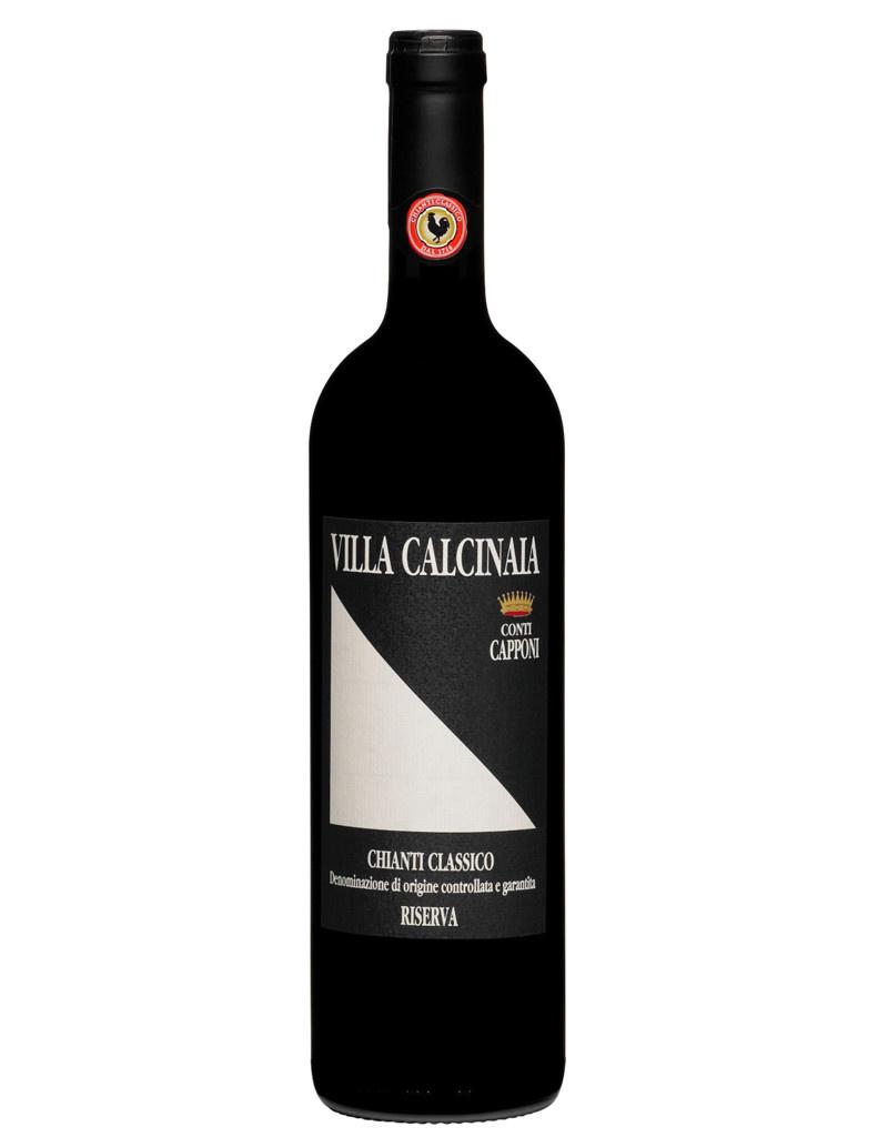 Conti Capponi Villa Calcinaia 2014 Chianti Classico Riserva DOCG, Tuscany, Italy [Organic]