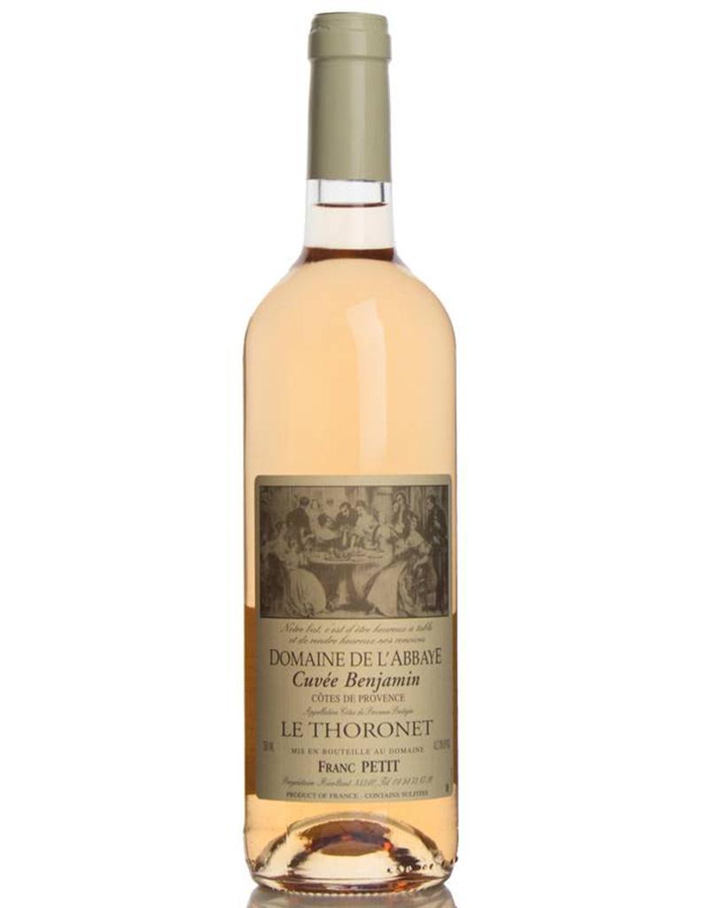 Domaine de L'Abbaye 2018 Cuvée Benjamin Rosé, Côtes de Provence, France