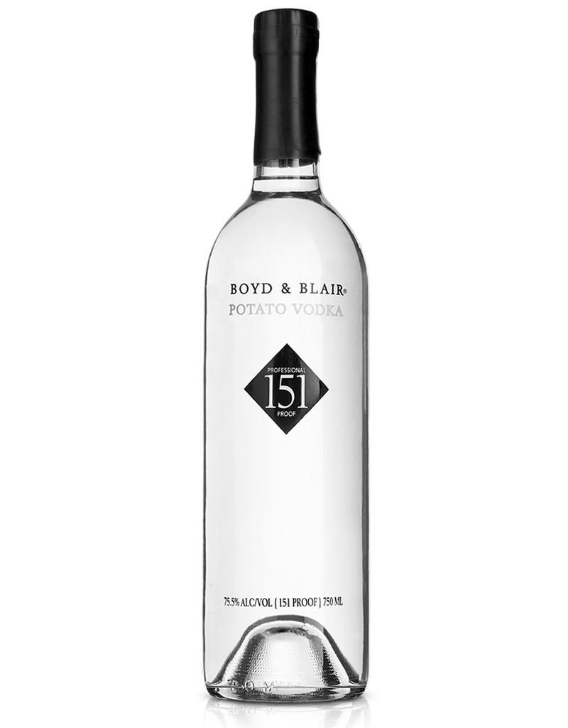 Boyd & Blair Professional Proff 151 Potato Vodka, Glenshaw, Pennsylvania