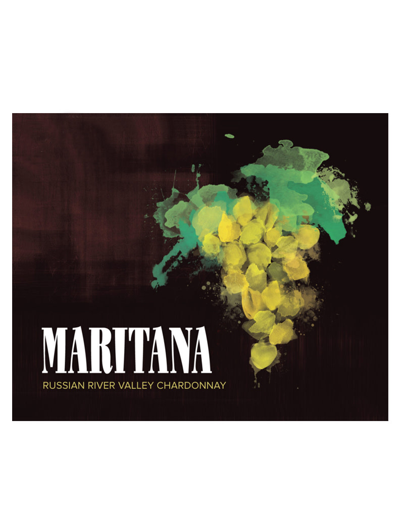 Maritana Vineyards 2017 Dutton Ranch - Hansen Hill Vineyards Chardonnay, Russian River Valley, California