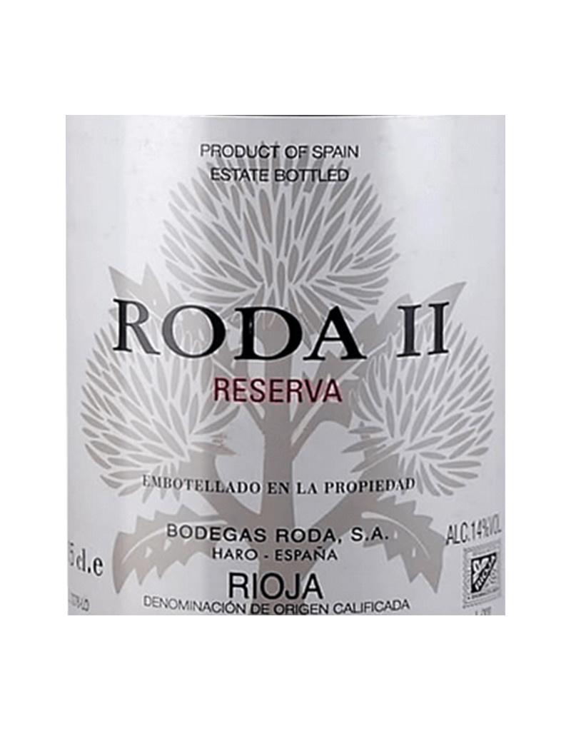 Bodegas Roda 2001 RODA II Reserva, Rioja DOCa, Spain