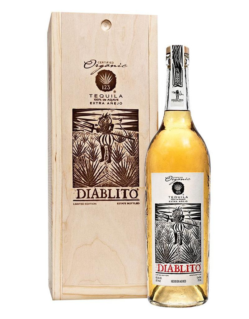 123 Organic Tequila Extra Añejo Diablito Tequila, Mexico