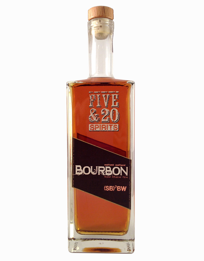 Five & 20 Spirits (SB)2BW Bourbon Whiskey, New York, USA