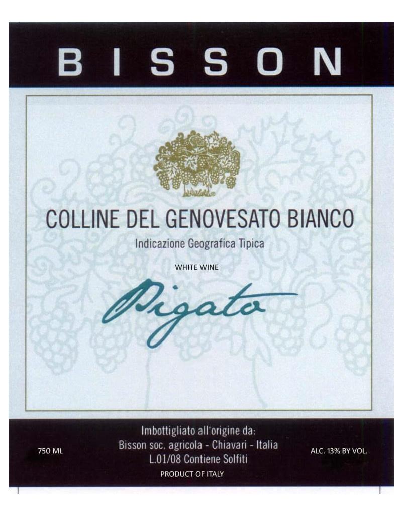 Bisson 2017 Pigato Colline del Genovesato IGT, Liguria, Italy