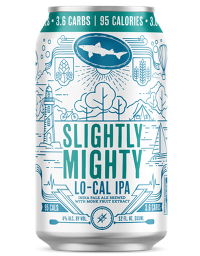 Dogfish 'Slightly Mighty' Low Calorie IPA, 6pk Cans