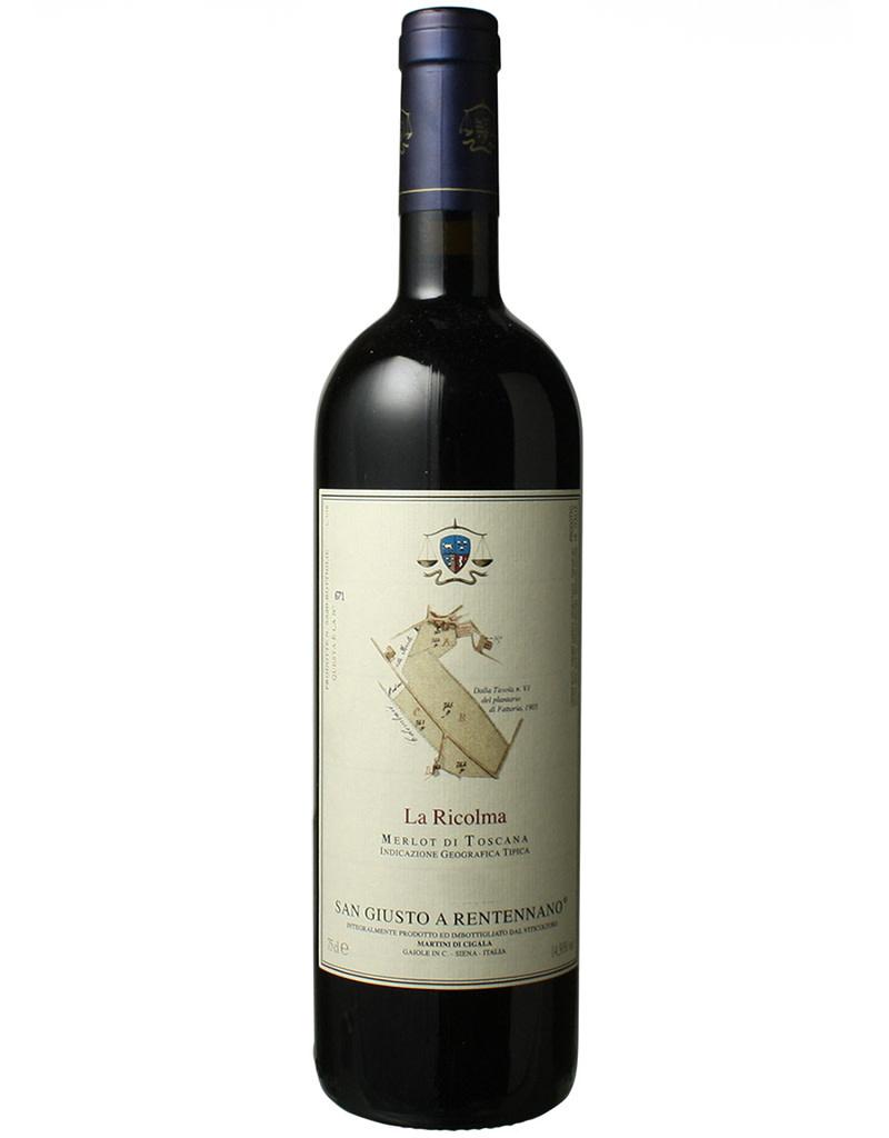 San Giusto a Rentennano 2015 'La Ricolma' Merlot Toscana IGT, Tuscany, Italy