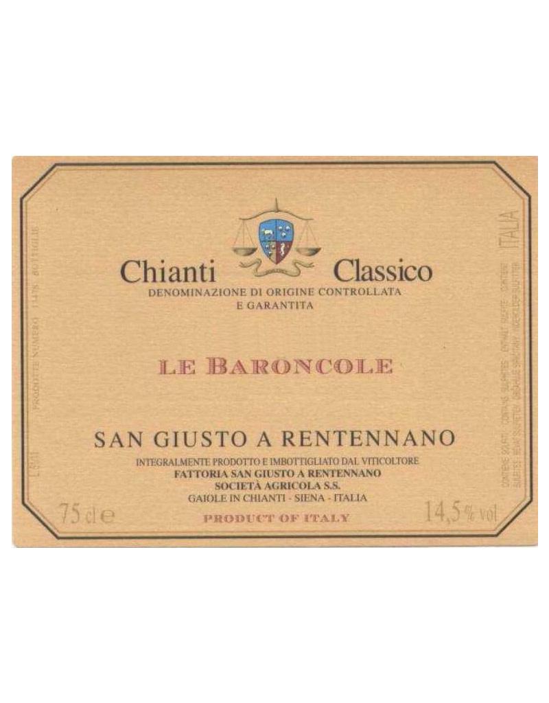 San Giusto a Rentennano 2016 Le Baroncole, Chianti Classico Riserva DOCG, Italy