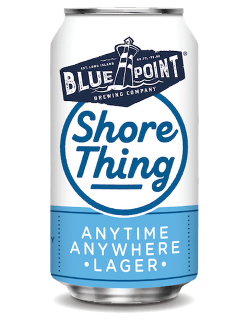 Blue Point Brewing Shore Thing Lager 6pk, Cans