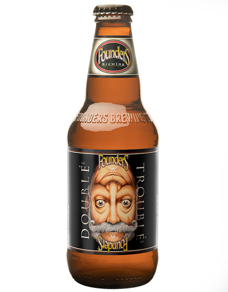 Founders Founders Brewing Co. 'Double Trouble' Imperial India Pale Ale, 4pk Bottles