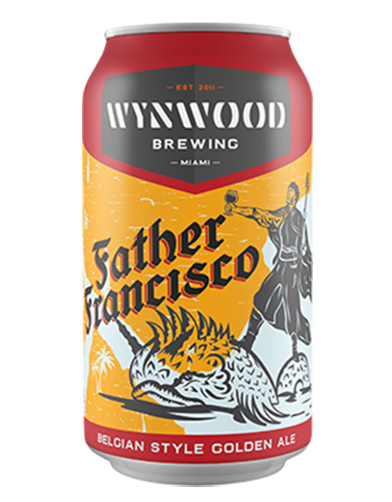 Wynwood Brewing Company Father Francisco Belgian Style Golden Ale, 6pk Cans