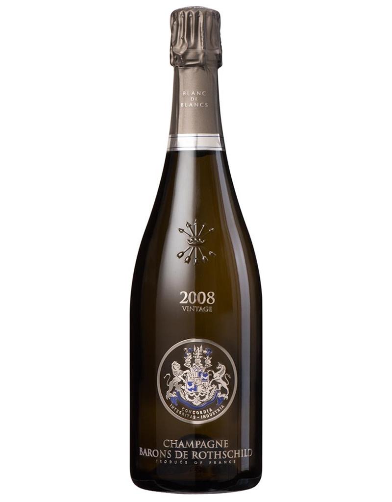 Champagne Barons de Rothschild 2008 Cuvée Spéciale, Blanc de Blanc, France