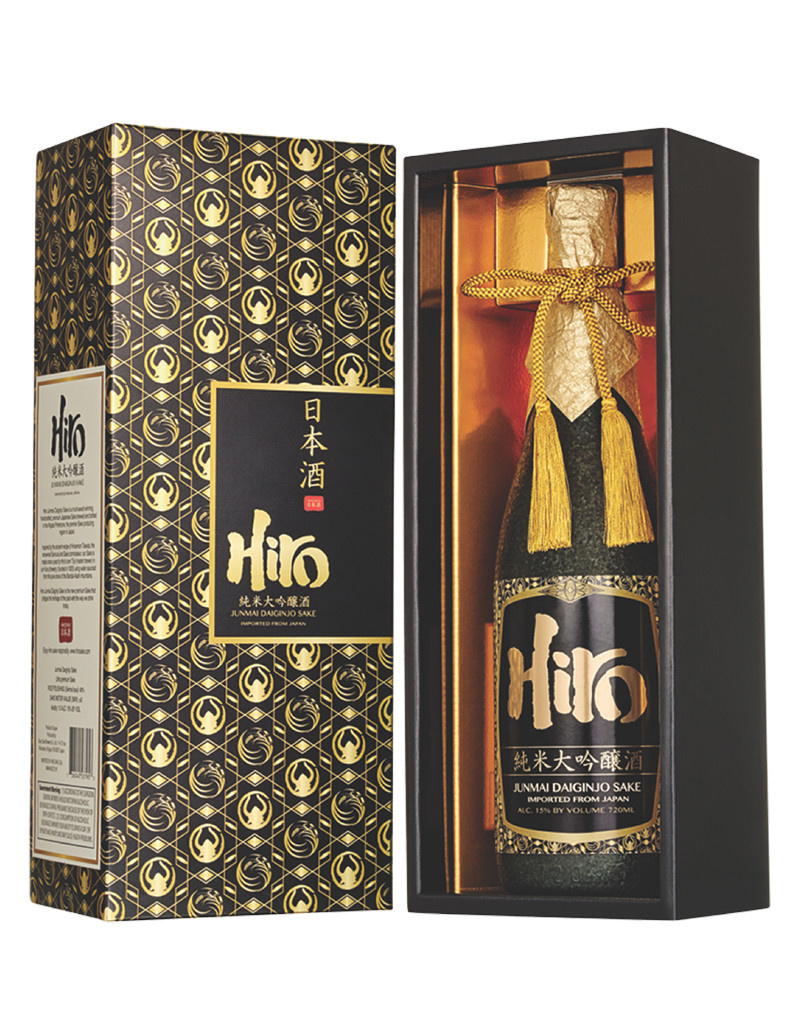Hiro Gold Junmai Daiginjo, Sake, Japan 720mL