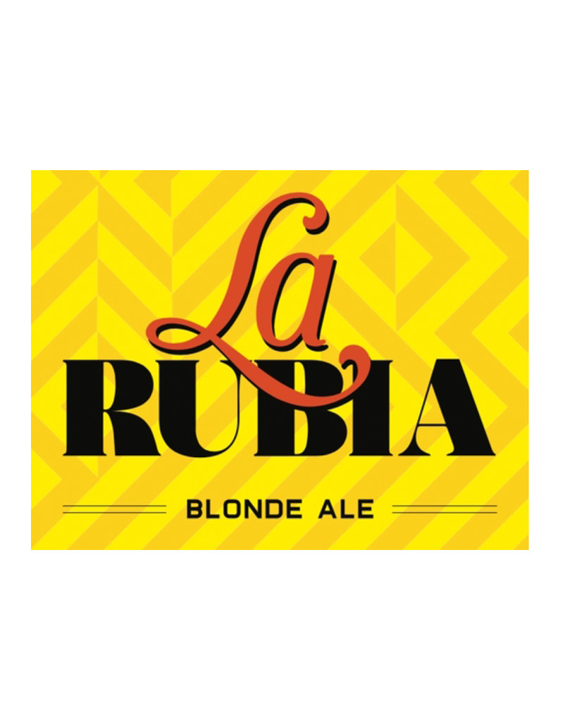 Wynwood Brewing Company La Rubia Blonde Ale, 16oz Can