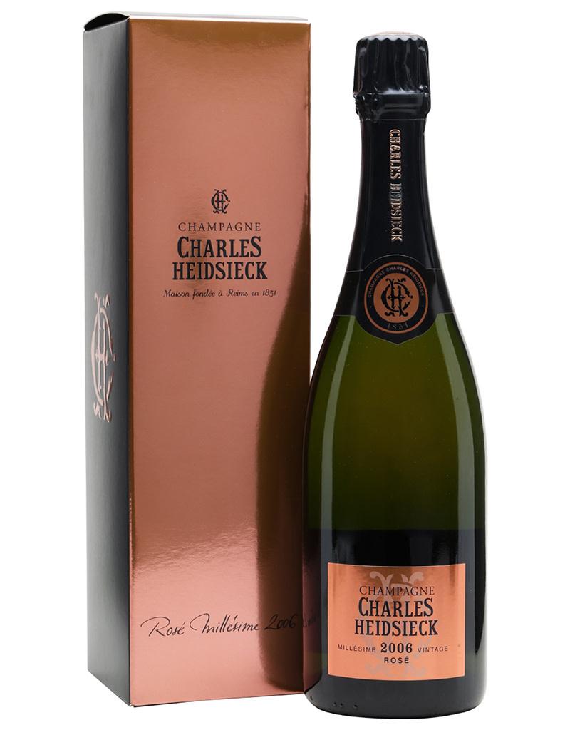 Charles Heidsieck 2006 Brut Rosé Millésime, Champagne, France