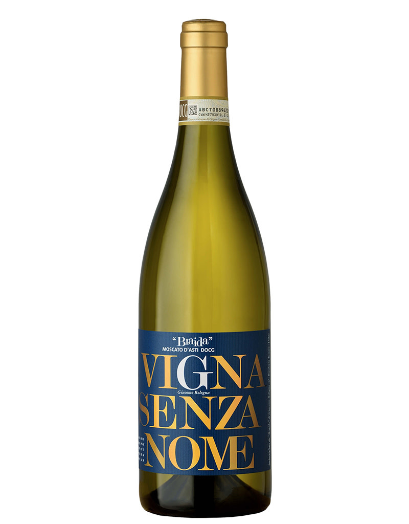 Giacomo Bologna Braida 2017 Moscato Vigna Senza Nome, Langhe, Piedmont, Italy 375mL