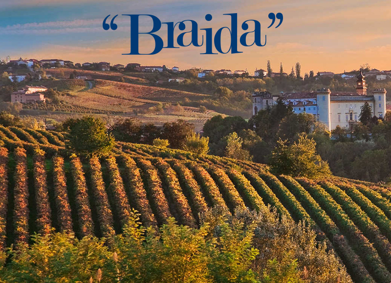 "FRI 20 SEP | Giacomo Bologna ""Braida"" Vineyard Tasting Seminar with Norbert Reinisch 