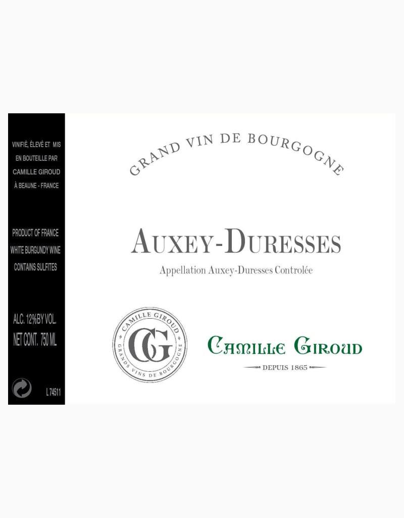 Camille Giroud 2014 Auxey-Duresses, Côte de Beaune, Burgundy, France