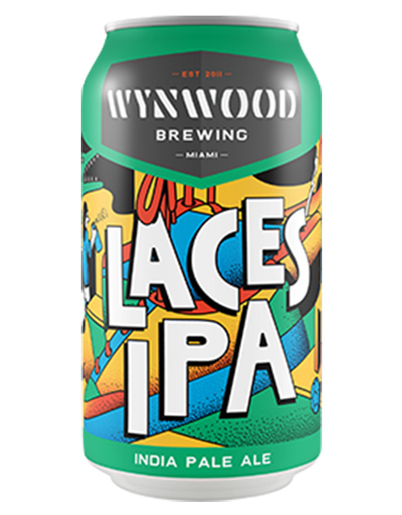 Wynwood Brewing Company Laces IPA Beer 6pk Cans
